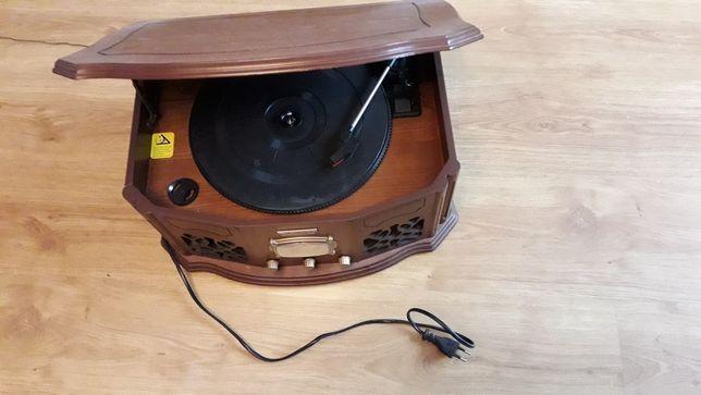 Gramofon hyundai rt 409 + radio sprawny