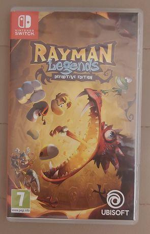 Gra Rayman Legends na nintendo switch