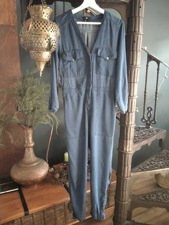 Kombinezon jeansowy H&M rozm. 38 / M - wiosenna wyprzedaż szafy!
