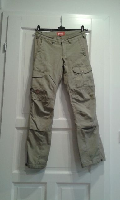 Fjallraven G-1000 damskie spodnie trekkingowe 34