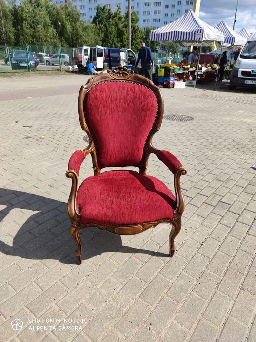 Fotel stylowy na sprężynach Zakręt - image 1