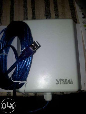 Antena wireless exterior para ter internet grátis até 30 km em linha v