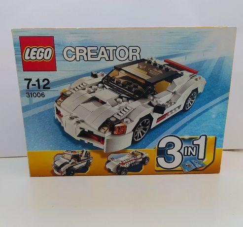 LEGO CREATOR 31006 Zdobywcy autostrad 3w1