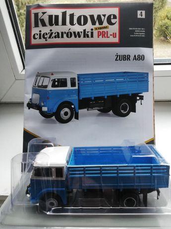 Kultowe ciężarówki PRL nr. 4 Żubr A80 1:43