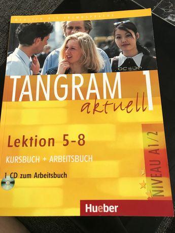 Tangram Aktuell 1. Kursbuch und Arbeitsbuch. Lektion 5-8 (+ CD)