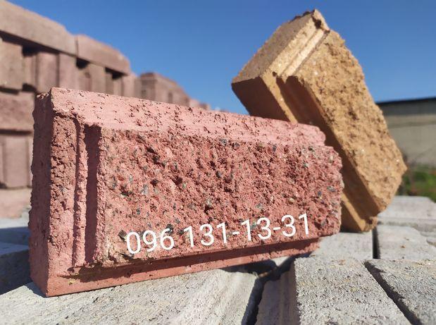 Кирпич скала, колотая фактура, кирпич декоративный для цоколей, фасада