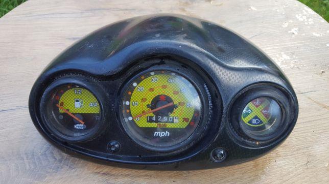 Suzuki Katana licznik zegary i lusterko prawe