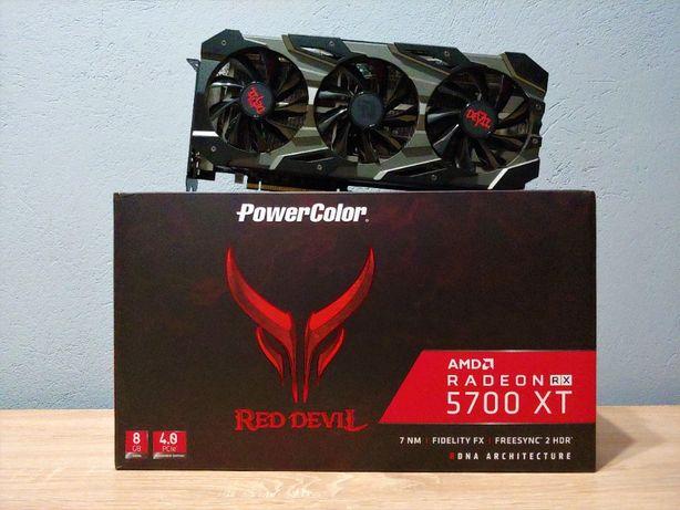 Amd Radeon RX 5700 XT Red Devil 8GB