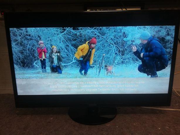 "Tv 42"" Samsung LED LCD 42 cale dekoder DVB-T MPEG4 HDMI x4 USB x2"