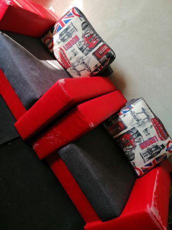 Fotele z poduszkami