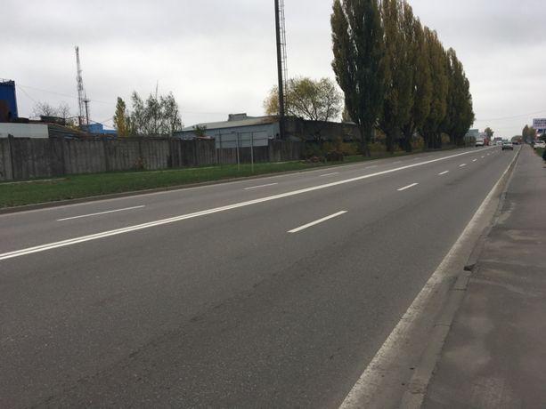 Продам участок земли 33сотки фасад трассы Вишневое Святопетровское