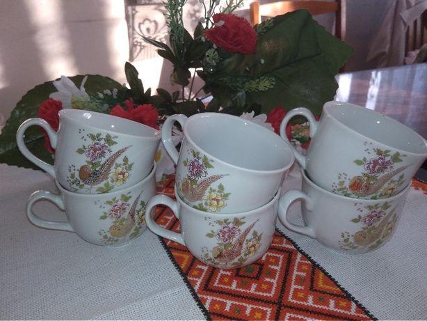 Новый набор чашки кофейные 6шт.