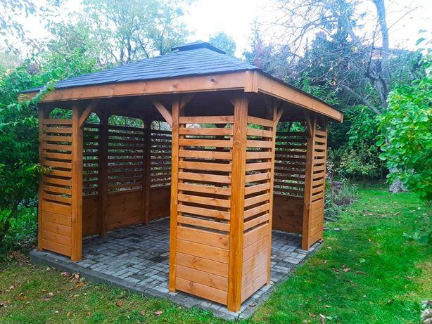 Altana ogrodowa altanka drewniana altanki ogrodowe drewniane 3x3 4x4