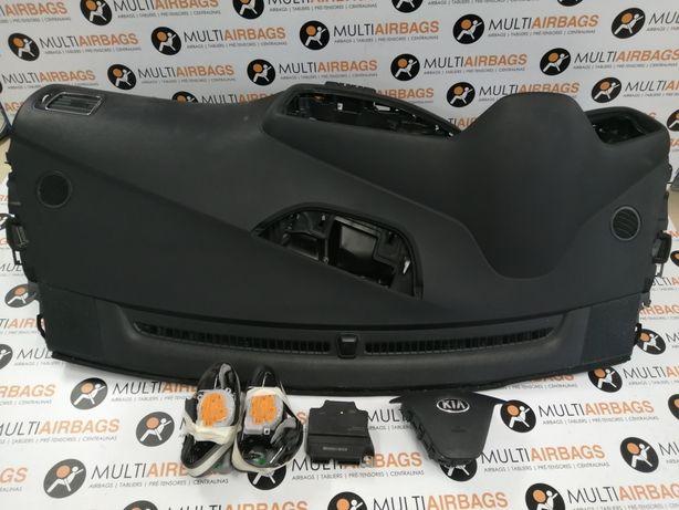 Conjunto de airbags com tablier Kia Ceed