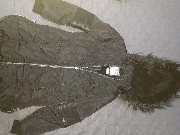 Sprzedam kurtkę zimową dziewczęcą rozm. 34