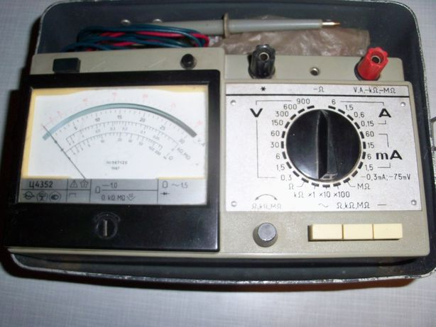 Ампервольтметр, Ц4352.
