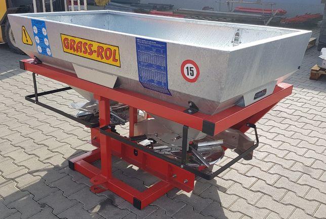 Rozsiewacz nawozów dwu-tarczowy 400 L / 600 L – GRASS-ROL NO56