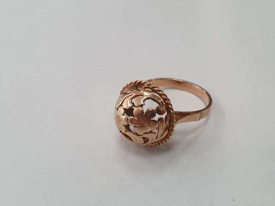 Retro! Piękny złoty pierścionek damski/ 585/ 4.67 gram/ R18/ Gdynia Gdynia - image 1