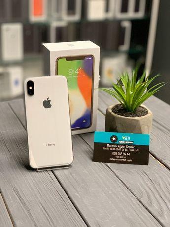 Apple iPhone X 64/256 Silver. Гарантия магазина! Vseti.com.ua