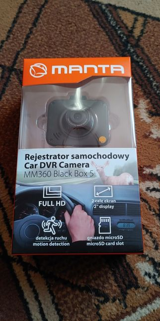 Kamerka rejstrator full hd Manta MM360