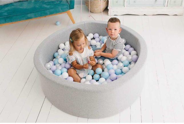 Детский сухой бассейн с шариками. Оплата при получении.