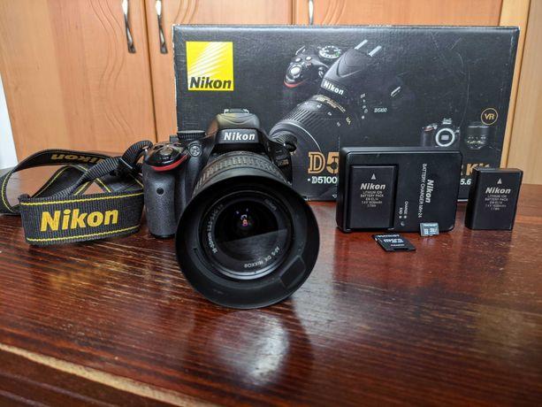 Дзеркальний фотоапарат Nikon D5100 kit (18-55mm VR)