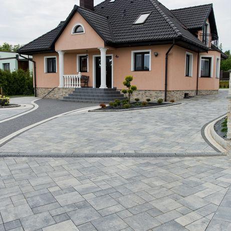 TRANSPORT GRATIS Kostka VISIO betonowa brukowa płyty tarasowe palisada