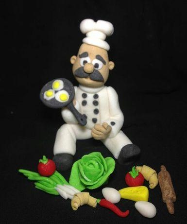 Декор из мастики фигурки на торт