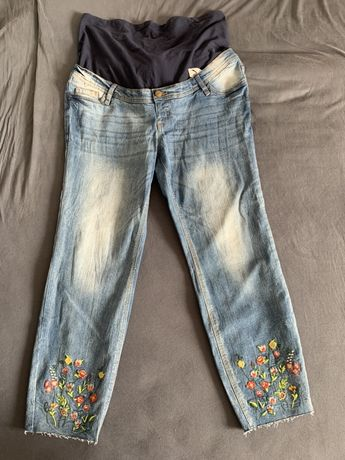 Modne spodnie ciążowe