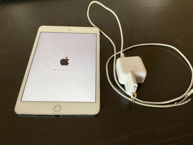 iPad Mini 4 16 GB 100% sprawny Wi-Fi Srebrny + Ładowarka Gratis