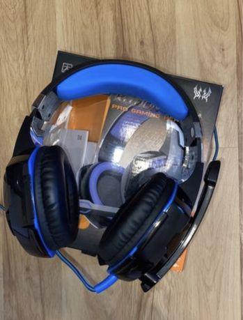 Słuchawki gamingowe nauszne