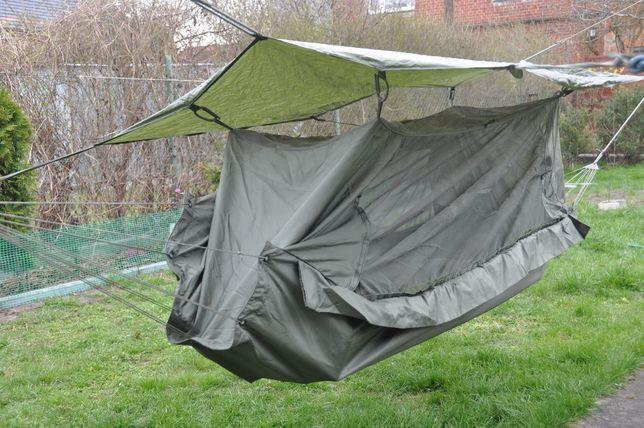 hamak z moskitierą i zadaszeniem US