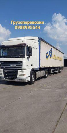 Транспортные услуги до 22 тонн Киев -Днепр - Кривой рог грузоперевозки