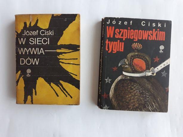 Józef Ciski; dwie powieści