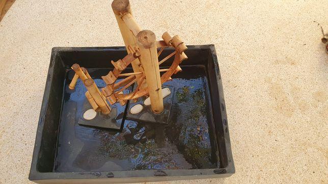 Cerâmica e bambu Zen