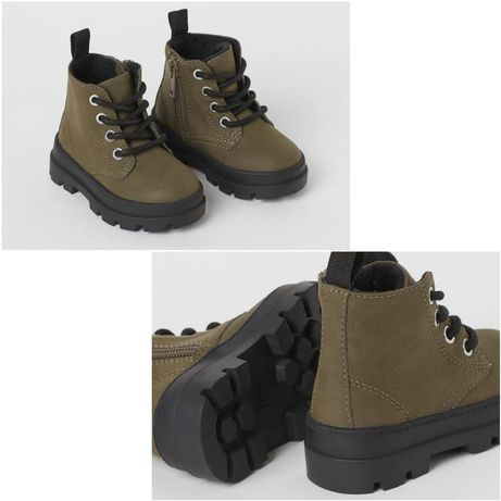 Ботинки утеплённые H&M,Zara, Carter's, George 24 размер