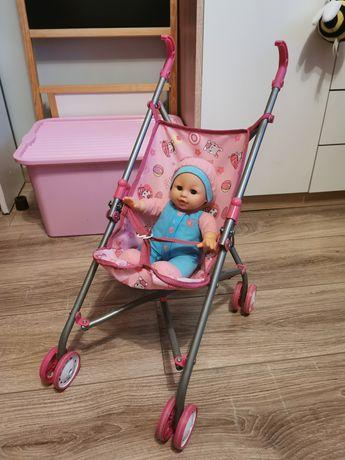 Wózek skladany z lalka interaktywną