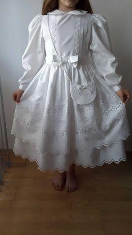 Sukienka komunijna ( Alba) rozmiar 134  lub przebranie komunijne