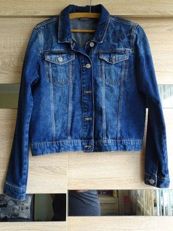 kurtka jeansowa c&a