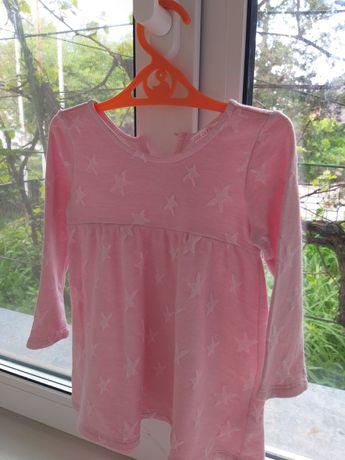Платье котоновое на девочку 92 размер
