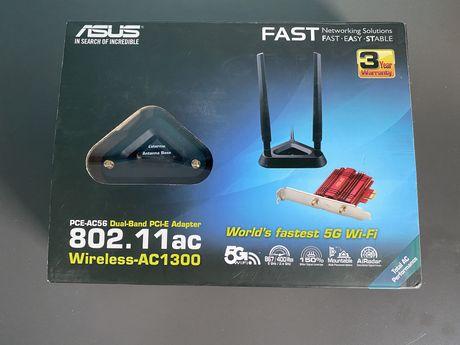 Karta Sieciowa ASUS PCE-AC56 AC 1300 2.4g i 5G