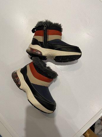Чобітки zara, ботинки, деми, утеплені, чоботи