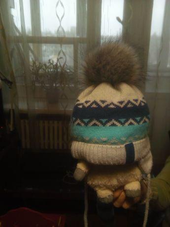 Зимняя шапочка для малышей