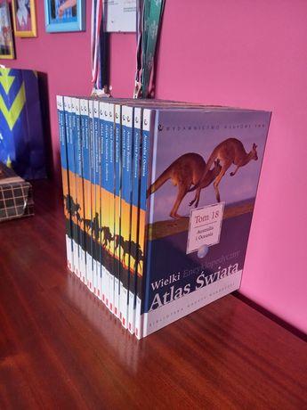 Wielki Atlas Świata - Wyd. Naukowe PWN   XVIII tomów