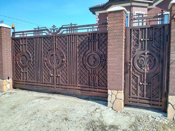 Ковані вироби Рівне.Ковані ворота. Ковані качелі. Ковані монгали