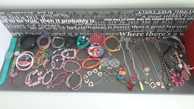 Duży zestaw biżuterii dla dziewczynki