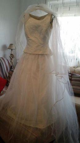 Vestido de noiva feito por encomenda para quem vestir o 34.