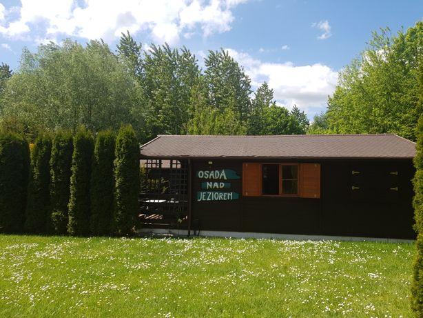 Domki drewniane w Brożówce, Kruklanki, Giżycko, Mazury