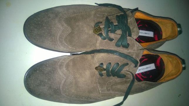 Чоловічі черевики демісезон мякі замш