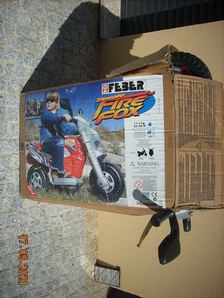 moto com bateria